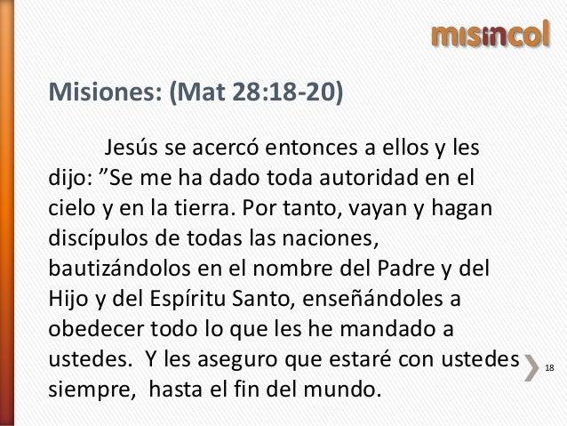 El Significado Bíblico De Misiones
