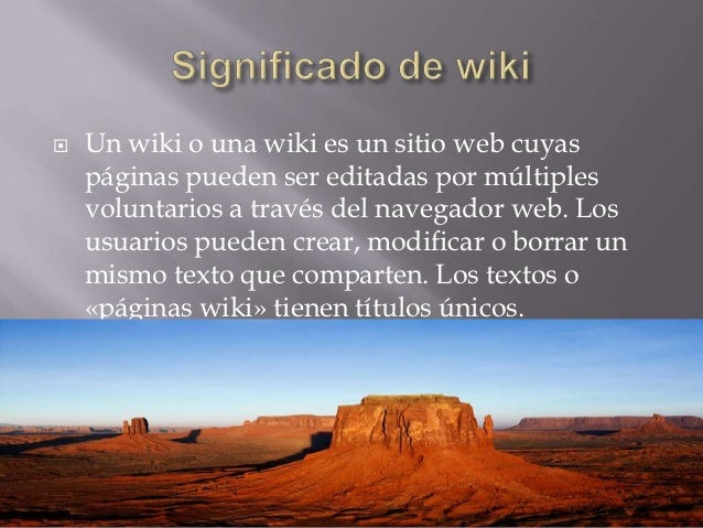 El significado de blog y de wiki for Significado de ornamental wikipedia
