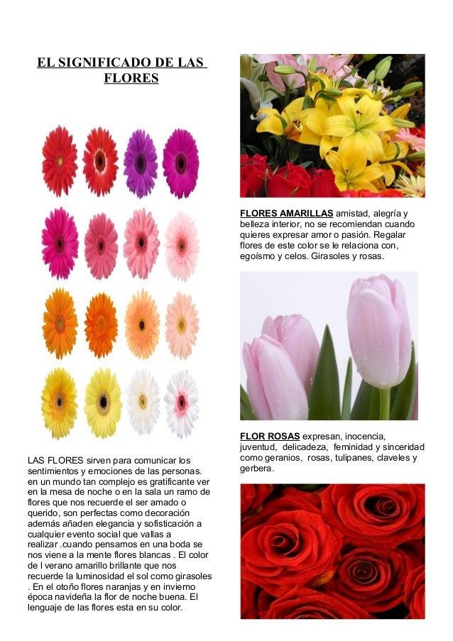 El significado de las flores for Tipos de arboles y su significado