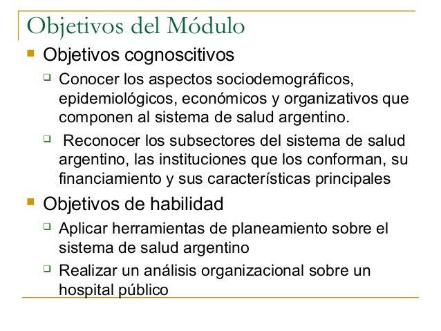 El sistema de salud en argentina Slide 3