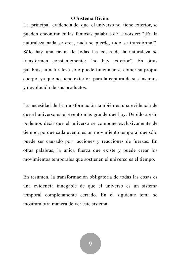 Jairo Alves5 El Sistema DivinoEl propósito de este tema es mostrar por qué el universo puedeser considerado como un sistem...