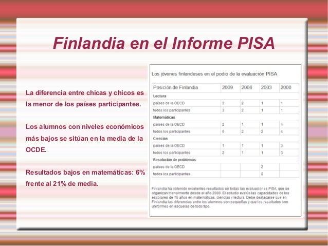 El sistema educativo de Finlandia