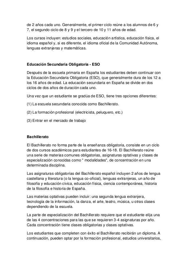 El sistema educativo escolar (españa y finlandia) Slide 3