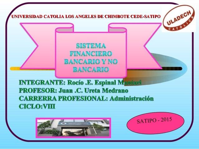 UNIVERSIDAD CATOLIA LOS ANGELES DE CHIMBOTE CEDE-SATIPOUNIVERSIDAD CATOLIA LOS ANGELES DE CHIMBOTE CEDE-SATIPO SATIPO - 20...