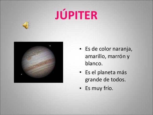 Jupiter And Venus >> El sistema solar en Infantil