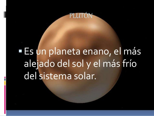 El Sistema Solar Tics