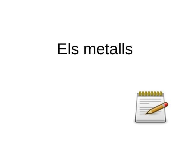 Els metalls