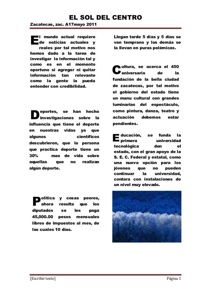 Practica word for L practicas