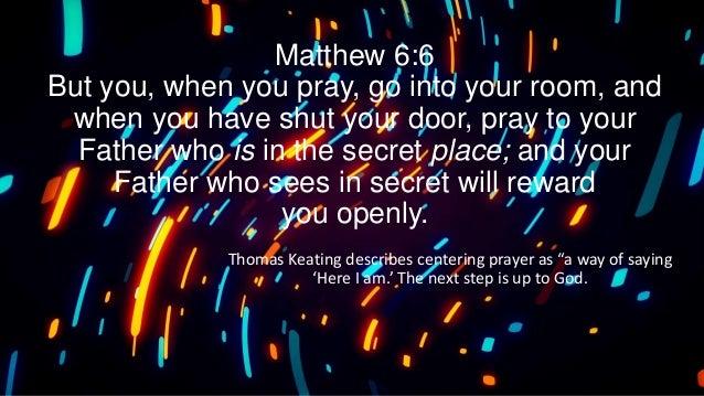 EL Shaddai Prayer Altar Contemplative Prayer Slide 2