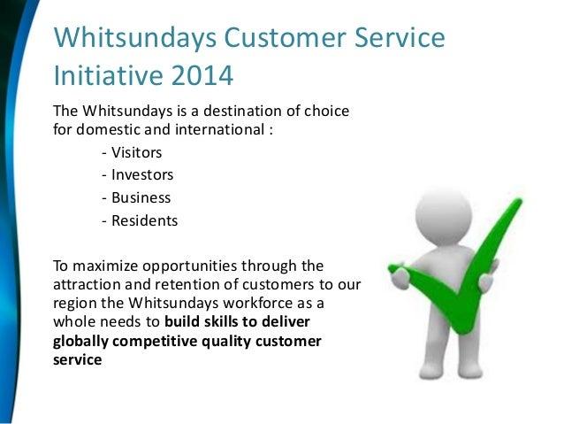 Whitsunday Regional Customer Service Skills Development Initiative 20…