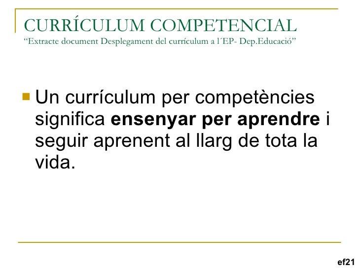 els projectes interdisciplinaris