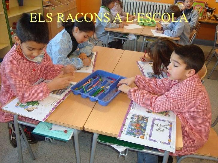 ELS RACONS A L'ESCOLA