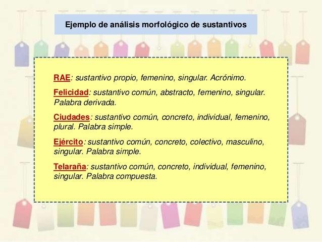 El sustantivo y sus clases for Jardinero definicion