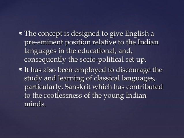 M.A. Sem.3 ELT1 Unit 1 Teaching English as 'Second Language' in India by Kapil Kapoor Slide 3