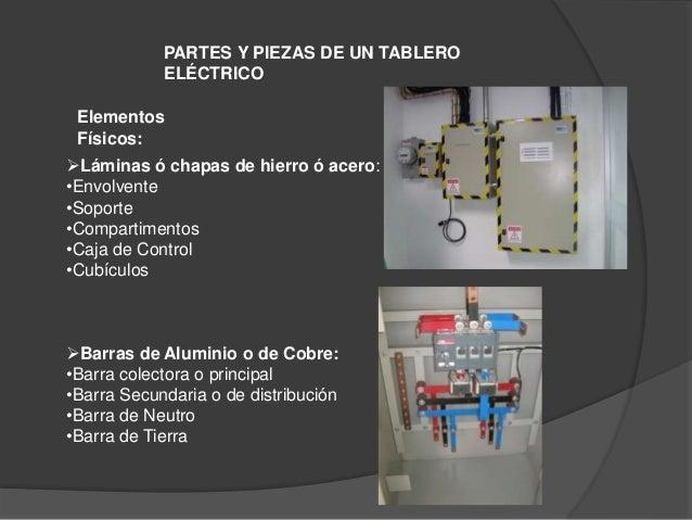 El tablero electrico for Partes de un vivero forestal