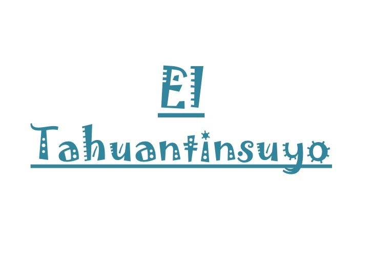 ElTahuantinsuyo