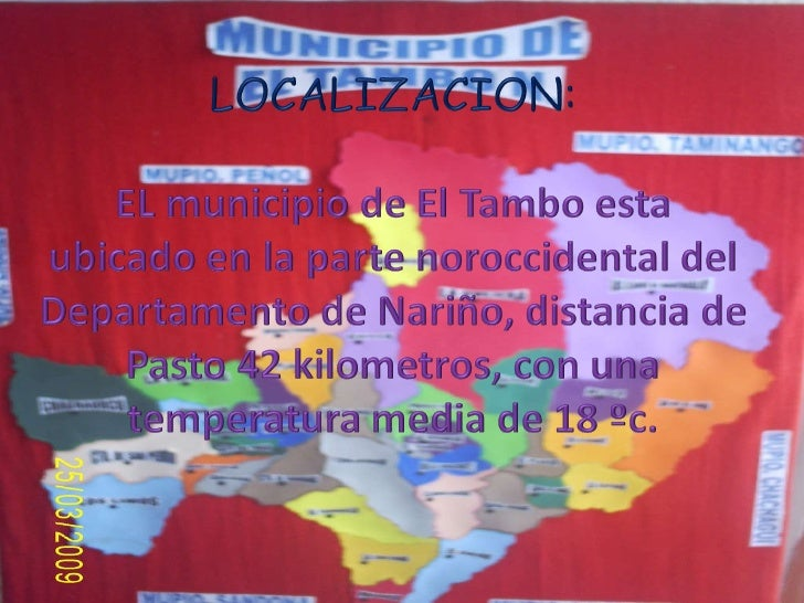 El Tambo Avances Dic Marzo Slide 3