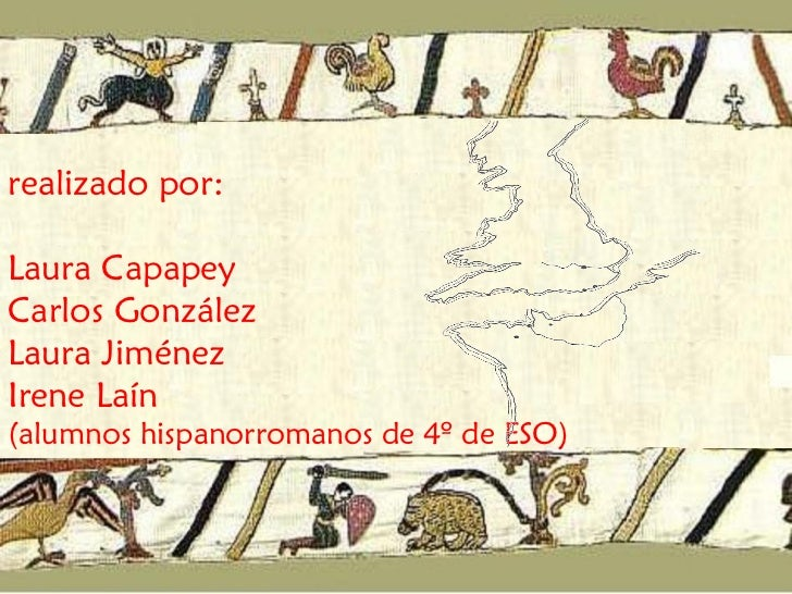El tapiz de Bayeux traducido Slide 2