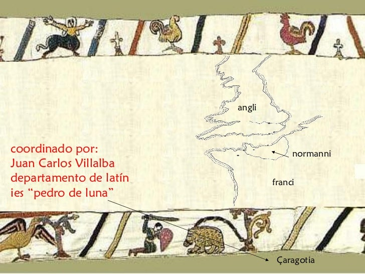 El tapiz de Bayeux traducido Slide 3