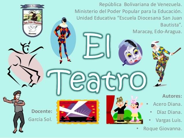 """República Bolivariana de Venezuela. Ministerio del Poder Popular para la Educación. Unidad Educativa """"Escuela Diocesana Sa..."""