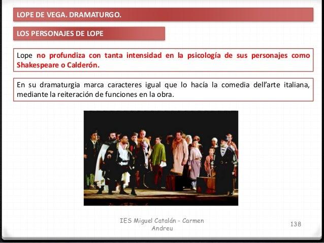 PEDRO CALDERÓN DE LA BARCA IES Miguel Catalán - Carmen Andreu 139
