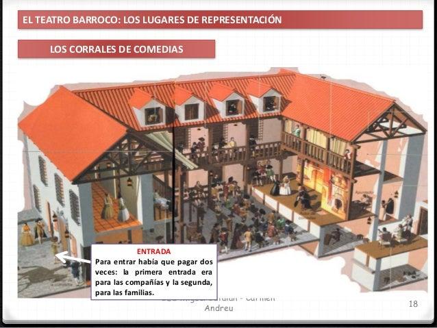 IES Miguel Catalán - Carmen Andreu 19 EL TEATRO BARROCO La temporada teatral se desarrollaba desde Pascua hasta Carnaval d...