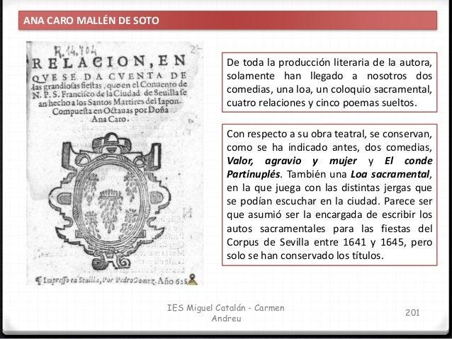 IES Miguel Catalán - Carmen Andreu 202 ANA CARO MALLÉN DE SOTO El conde Partinuplés es una comedia caballeresca, que quizá...