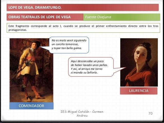 IES Miguel Catalán - Carmen Andreu 71 No es malo venir siguiendo un corcillo temeroso, y topar tan bella gama. Este fragme...