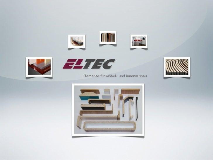 Elemente für Möbel- und Innenausbau
