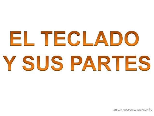 MSC. NANCYCHILUISA PROAÑO