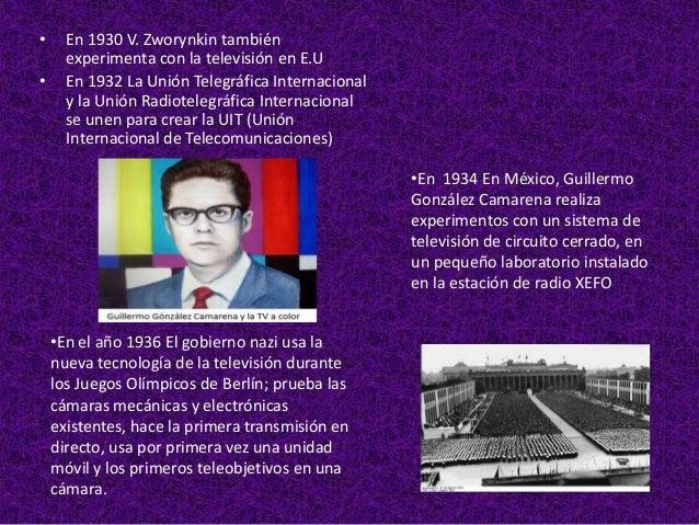•     En el año de 1959 Sale al aire la señal      del Canal 11 del Instituto Politécnico      Nacional                   ...