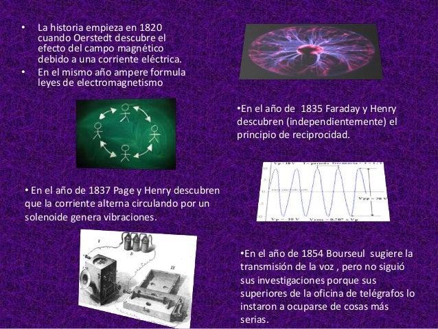 """•   En el año de 1867 Phillip Reis presenta    un artículo llamado """"Telefonía por    medio de la corriente eléctrica"""" , en..."""