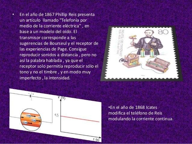 •   En el año de 1876 Alexander Graham Bell    y E. Gray se disputan la invención del    teléfono , inscribiendo las paten...