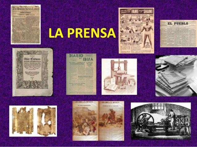 – 1615: FrankfurtenJournal.                      – 1640: la Gazzeta                      publica de italia.  – 1641: Gacet...