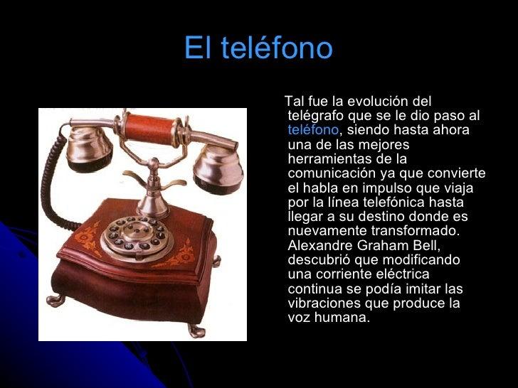 El telegrafo for De donde es el telefono