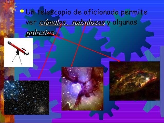 El telescopio. Slide 3