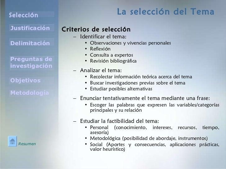 El tema de investigacion poderoso Slide 2