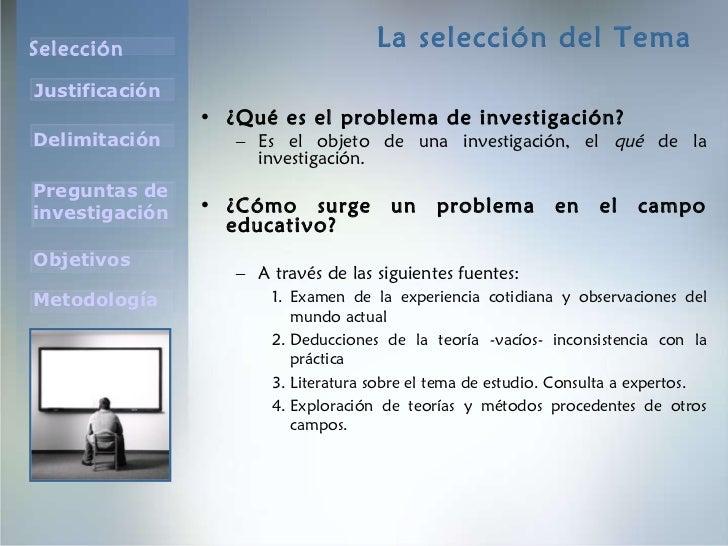 El tema de investigacion poderoso Slide 3