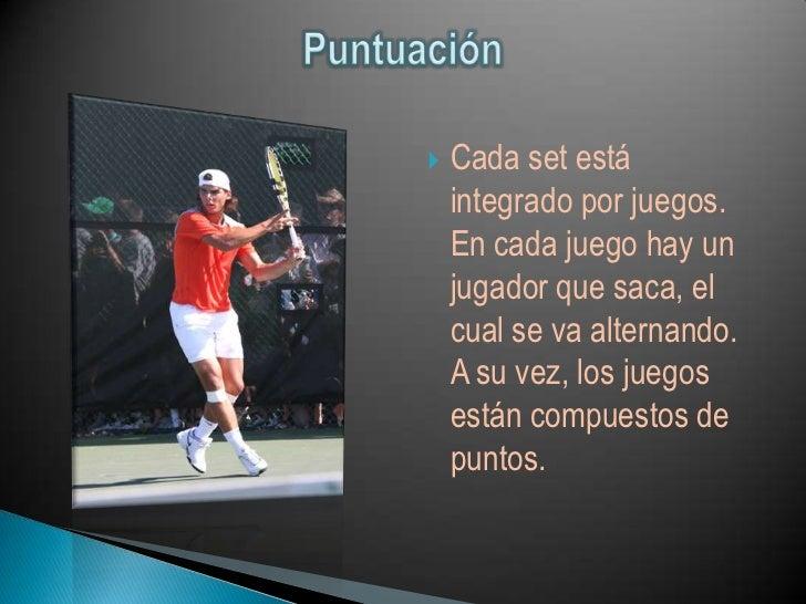    El tenis tiene sus reglas oficiales, y también tiene el    código de conducta del tenis, donde están las    reglas no ...