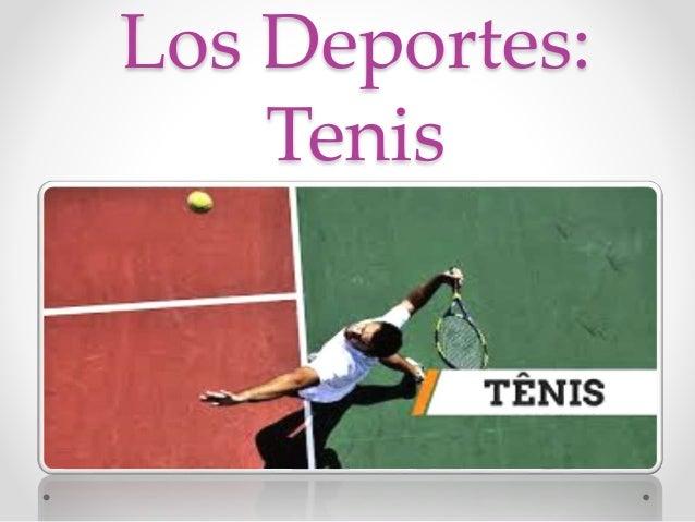 Los Deportes: Tenis