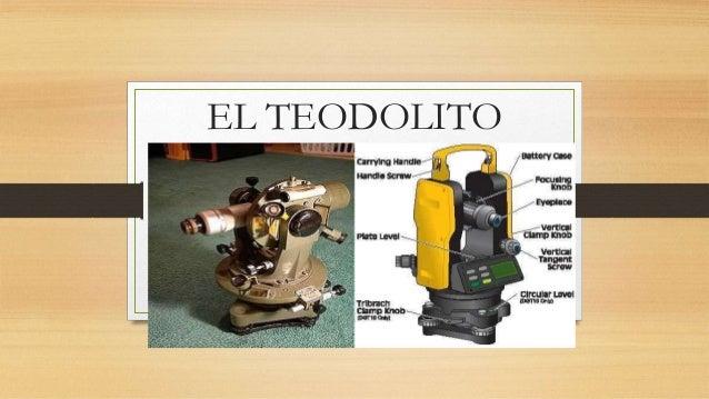 EL TEODOLITO