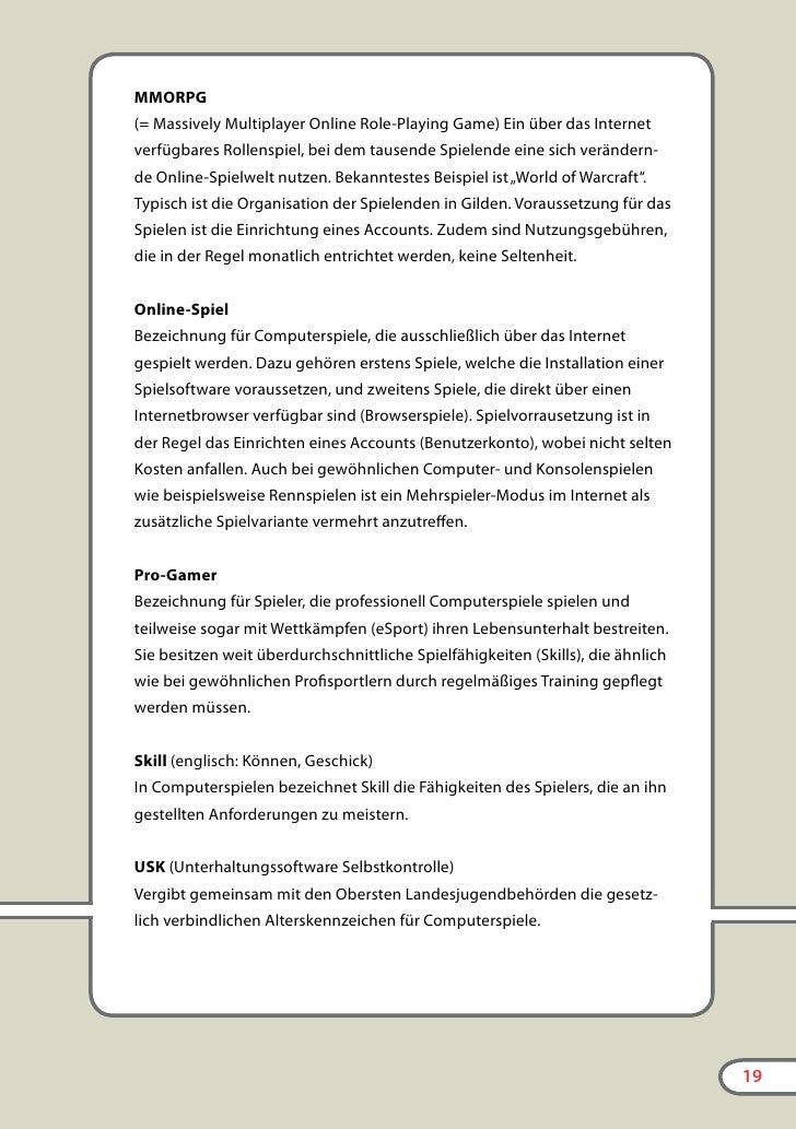 Eltern-LAN             Informationen für Eltern im Internet        www.bpb.de/computerspiele      Die Bundeszentrale für p...