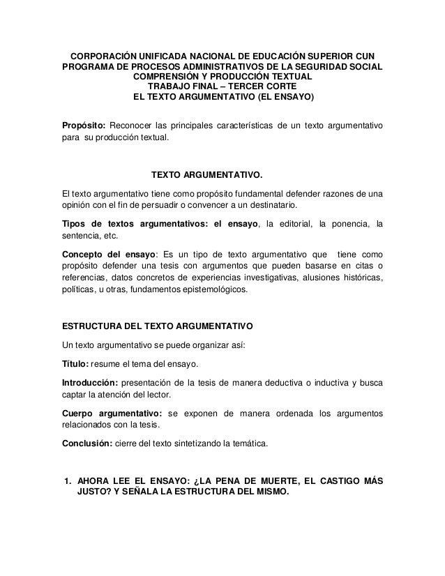 CORPORACIÓN UNIFICADA NACIONAL DE EDUCACIÓN SUPERIOR CUN PROGRAMA DE PROCESOS ADMINISTRATIVOS DE LA SEGURIDAD SOCIAL COMPR...