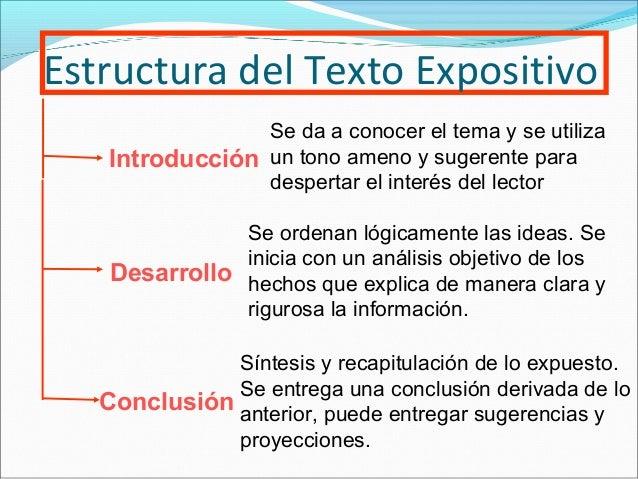 El texto expositivo for Que es un articulo cultural o de espectaculos