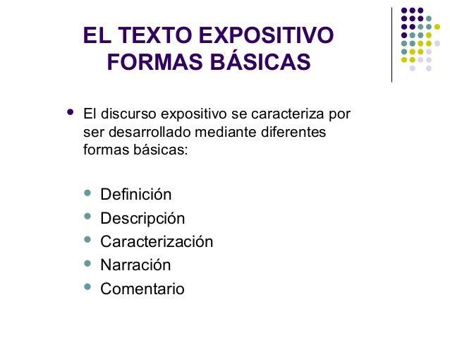 El texto expositivo para cuarto y quinto a o for Definicion de cuarto