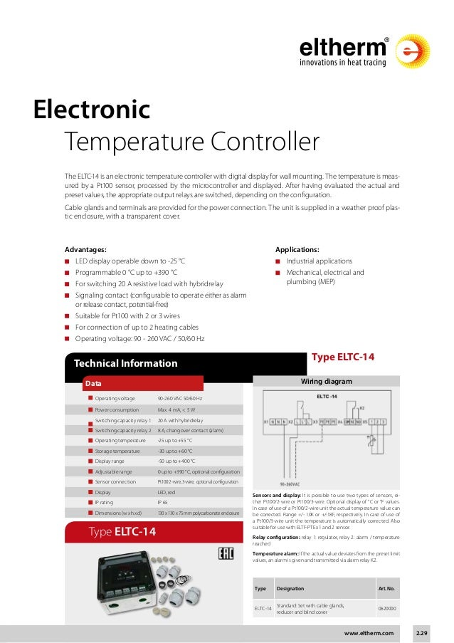eltherm self regulating heat trace cable product catalogue 29 638?cb=1475660866 eltherm self regulating heat trace cable product catalogue heat trace controller wiring diagram at gsmx.co