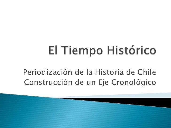 Periodización de la Historia de ChileConstrucción de un Eje Cronológico