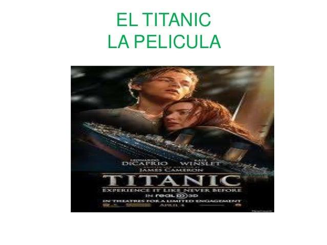 EL TITANICLA PELICULA