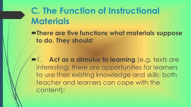 teaching functions in english