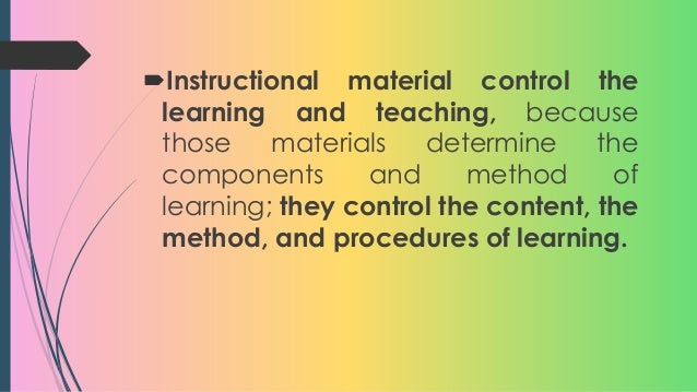 instructional materials in english by erno Instructional materials are one of the most important tools educators use in the   k-12 english language arts full courses and benchmark assessments, and.